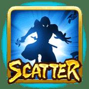 เกมสล็อต ninja vs samurai S_Scatter_Ninja