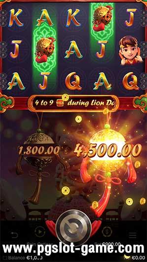 เกมสล็อต Prosperity Lion BallFeature2-min