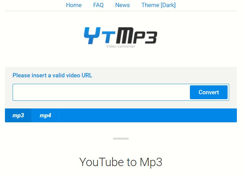 youtube mp3 แปลง TYMP3