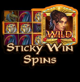สล็อตฟาโรห์ StickyWinSpins