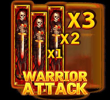 สล็อตสุสานนักรบ warior attack