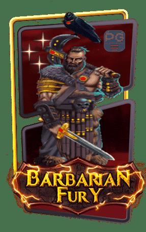 Barbarian fury กรอบเกม