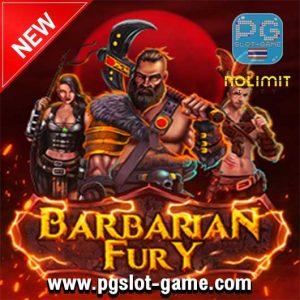 Barbarian fury slot