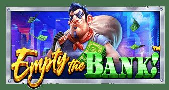 Empty the bank กรอบเกม logo game