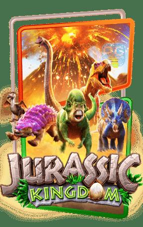 Jurassic Kingdom ทดลองเล่น pg slot สล็อต ไดโนเสาร์