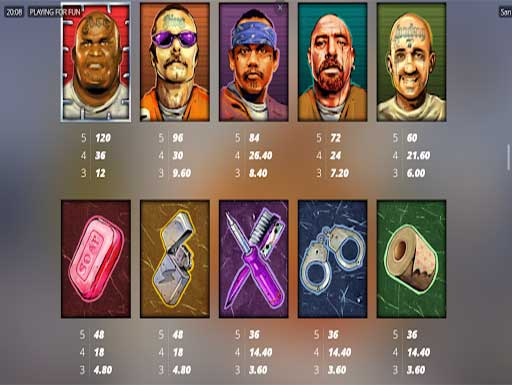 SAN QUENTIN XWAYS payout