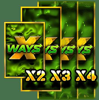 XWAYS HOARDER XSPLIT Feature X ways