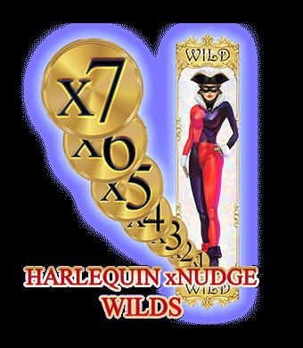 harlequin xnudge wild