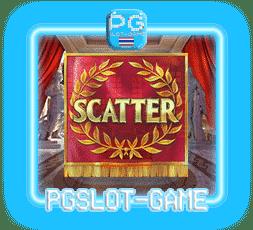 เกมสล็อตยุคทองของกรุงโรม Scatter