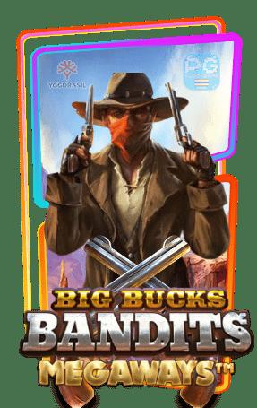 Big bucks bandits Megaways กรอบเกม