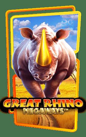 Great rhino megaways กรอบเกม