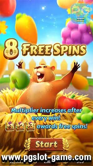 Groundhog Harvest Freespins
