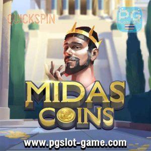 Midas Coins ทดลองเล่นสล็อต Quickspin Gaming เล่นฟรี