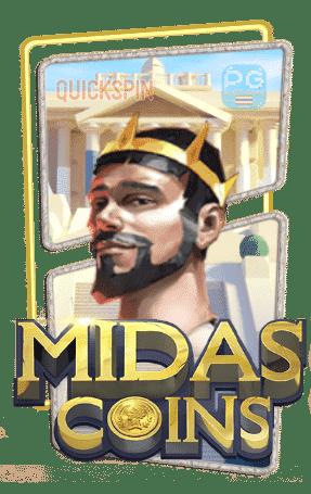 Midas Coins เล่นสล็อตฟรี จากค่าย Quickspin Slot