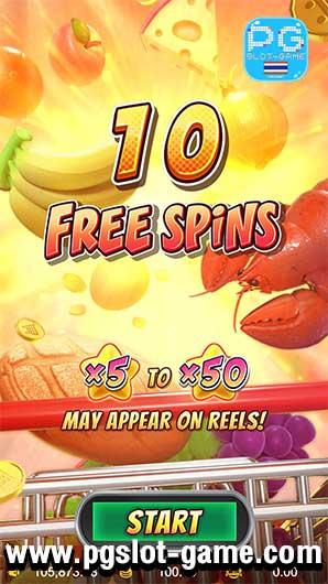Supermarket Spree Freespin 1