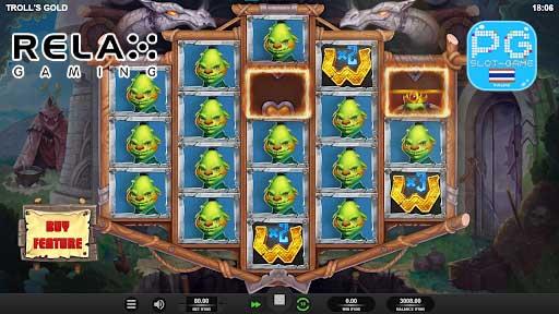 Troll's Gold ฟีเจอร์เกม