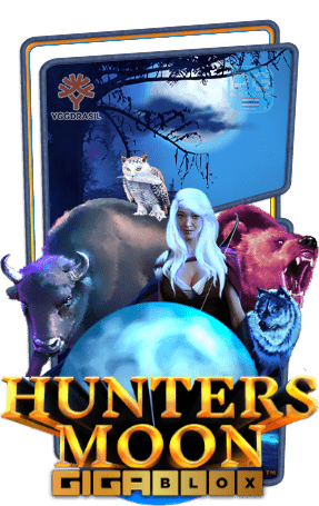 HUNTERS MOON GIGABLOX ทดลองเล่นสล็อต yggdrasil Gaming slot demo เครดิตฟรี สมัครฟรี100%