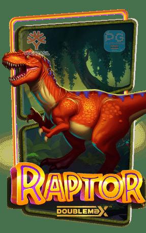 Raptor Doublemax ทดลองเล่นสล็อต Yggdrasil Gaming slot demo เครดิตฟรี สมัครรับโบนัส100%