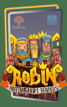 Robin – Nottingham Raiders ทดลองเล่นสล็อต yggdrasil Gaming Slot demo เล่นฟรี สมัครรับโบนัส100%