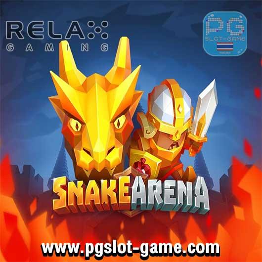 Snake Arena ทดลองเล่นสล็อต Relax Gaming Slot เล่นฟรี สมัครรับ100%