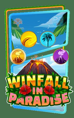 Winfall in Paradise ทดลองเล่นสล็อต yggdrasil Gaming slot demo เล่นฟรี เครดิตฟรี สมัครรับโบนัส100%
